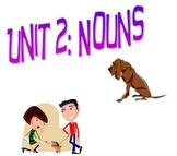 Grammar Interactive Notebook Grade 4 Unit 2 Nouns