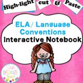 ELA Conventions/ Grammar Interactive Notebook:  Highlight