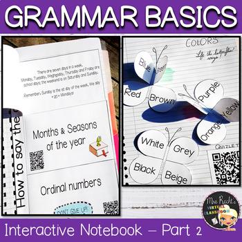 Grammar Interactive Notebook Part 2