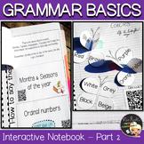 Grammar ESL/EFL Interactive Notebook Part 2
