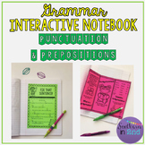 Grammar Interactive Notebook: Punctuation and Prepositions
