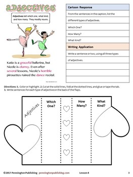 Grammar Interactive Notebook: Spelling Rules and Parts of Speech Review Unit