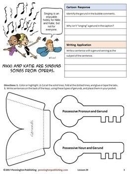 Grammar Interactive Notebook-Teaching Grammar and Mechanics Interactive Notebook