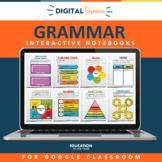 Grammar Interactive Notebooks | Parts of Speech | Grammar Review