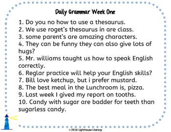 Grammar- Intermediate Unit 1