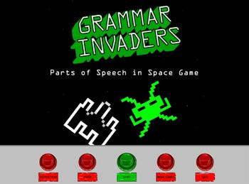 Grammar Invaders: A Parts of Speech in Space Game