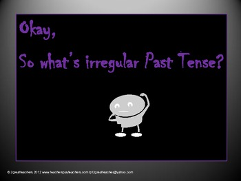 Grammar - Irregular Past Tense