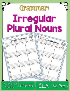 Grammar: Irregular Plural Nouns