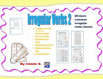 Irregular Verbs 2