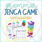 Grammar Jenga Game for Capitalization Practice