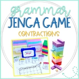Grammar Jenga Game for Contractions Practice