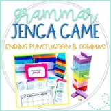 Grammar Jenga Game for Punctuation Practice