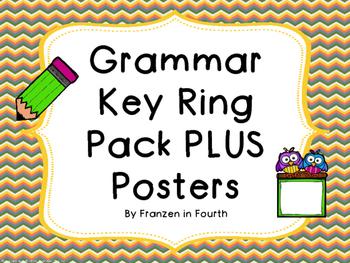 Grammar Key Ring PLUS Grammar Posters