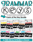 Grammar Keys (to be used with Poem of the Day: sold separately)