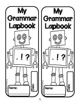 Grammar Lapbook | Grammar Skills