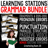 Grammar Learning Stations Bundle