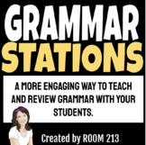 Grammar Learning Stations Bundle