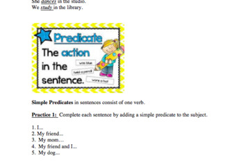 Grammar Lessons Mini Bundle