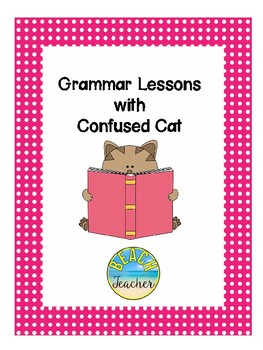 Grammar Lessons with Confused Cat
