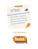 Grammar Level Test. ESL. EFL. Distance Learning.