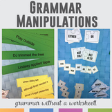 Grammar Manipulations: hands-on sentence combining