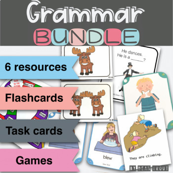 Grammar Materials Bundle for Speech Therapy Special Education