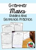 Grammar Maze