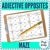 Grammar Maze   Spanish Adjective Opposites