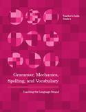 Grammar, Mechanics, Spelling, and Vocabulary Grade 4 BUNDLE