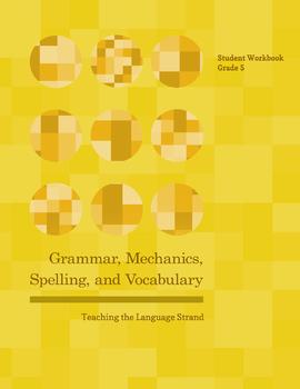 Grammar, Mechanics, Spelling, and Vocabulary Grade 5 BUNDLE