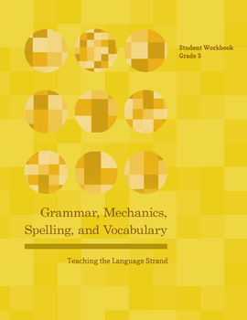 Grammar, Mechanics, Spelling, and Vocabulary Grade 5 BUNDLE