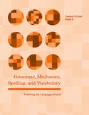 Grammar, Mechanics, Spelling, and Vocabulary Grade 6 BUNDLE