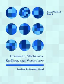 Grammar, Mechanics, Spelling, and Vocabulary Grade 8 BUNDLE