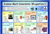 ESL Grammar Meets Conversation BUNDLE - 13 EFL worksheets
