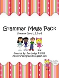 Grammar Mega Pack- Common Core L.2.1 a-f