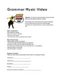 Grammar Music Video Assignment