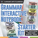 Grammar Interactive Notebook Starter Kit
