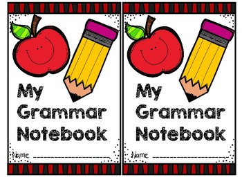 Grammar Notebook FREEBIE!