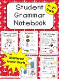 Grammar Notebook - Student Anchor Charts