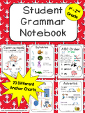 Grammar Notebook - Student Anchor Charts