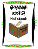 Grammar Notebook and Power Point for 4th Grade