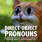 Grammar Notes: Direct Object Pronouns in Spanish