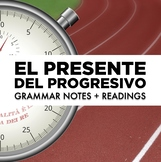 Present progressive tense in Spanish: Notes and readings