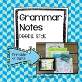 Grammar Notes with distance learning option