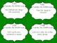 Grammar: Noun Activity Cards