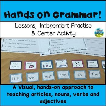 Grammar: Nouns, Articles, Verbs and Adjectives