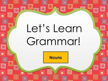 Grammar Product (Nouns)