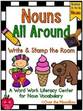 Grammar On the Go   Nouns All Around Write the Room Activity Pack