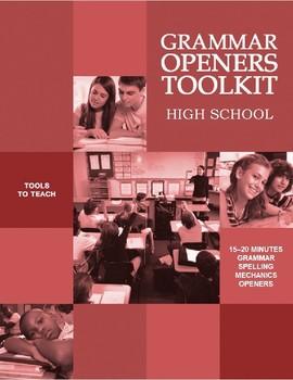 Grammar Openers Toolkit (High School)