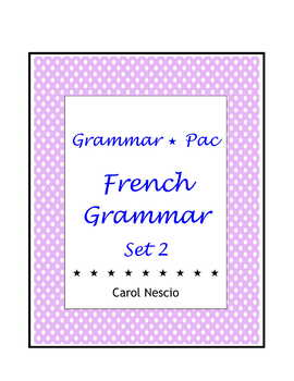 Grammar * Pac For French Class Set 2